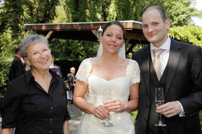 Freie Trauung mit Hochzeitsritus aber ohne Hochzeitsauto in Duisburg