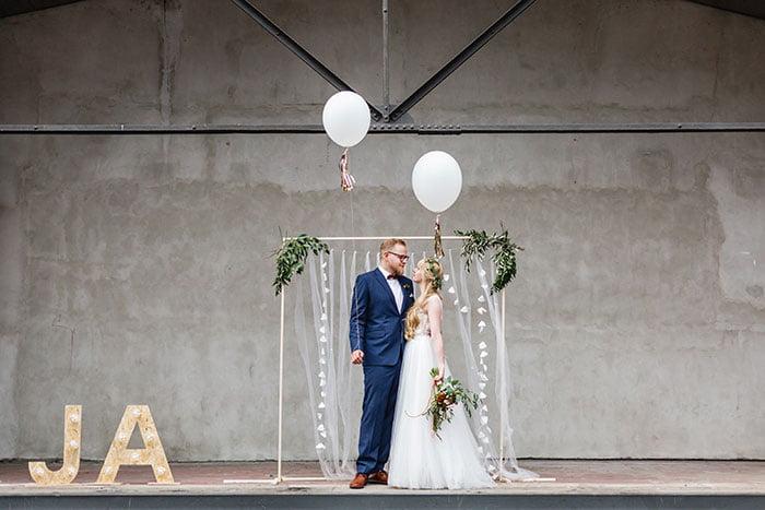 Freie Trauung für ein Hochzeitspaar in NRW