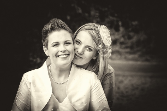 freie Trauung - lesbische Hochzeit